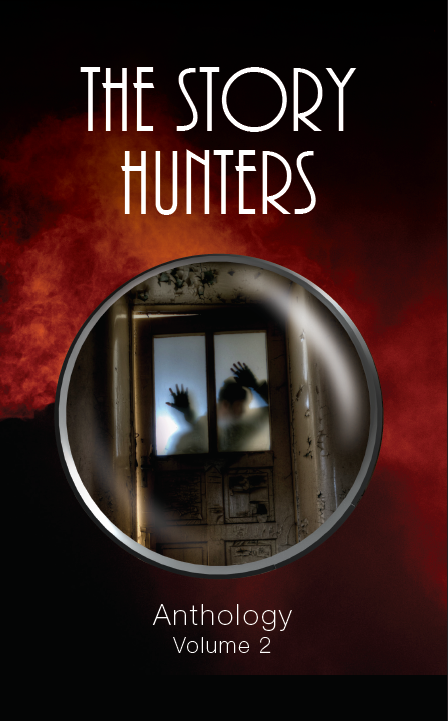 The cover of the lastest anthology of speculative fiction from HWC's speculative fiction group The Story Hunters.